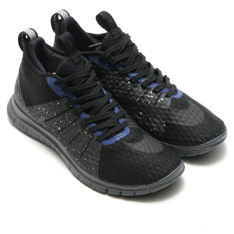 1ed1601e9d80 NIKE FREE HYPERVENOM 2 FC (Nike free hyper venom 2 FC) BLACK BLACK-REFLECT  SILVER-DEEP ROYAL BLUE-DARK GREY 16SU-S