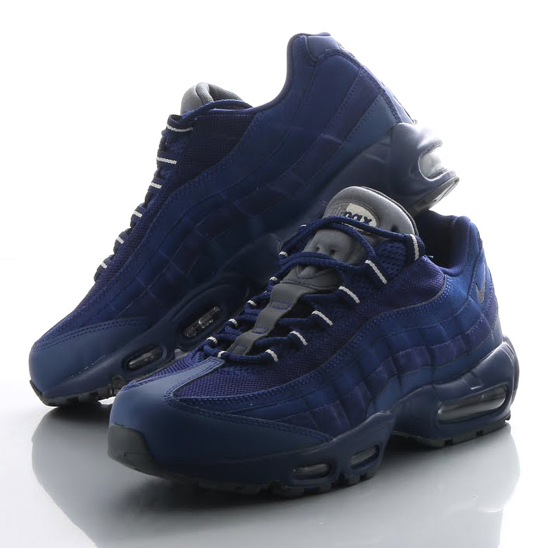 timeless design 52186 b24ce NIKE AIR MAX 95 ESSENTIAL (Nike Air Max 95 essential) ROYAL BLUE DARK ...
