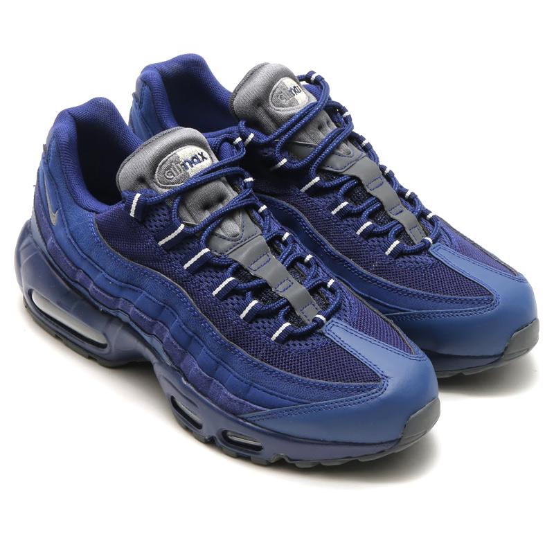 NIKE AIR MAX 95 ESSENTIAL (Nike Air Max 95 essential) ROYAL BLUE DARK  GREY-LIGHT BONE 16SU-I 42a19c68b