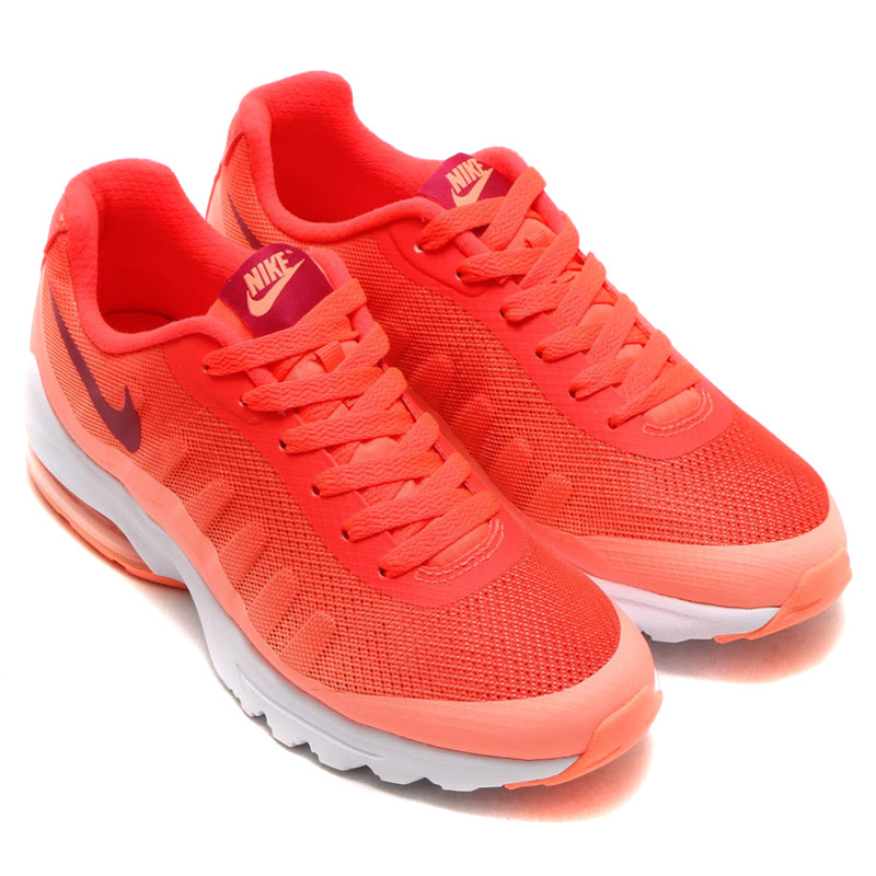 nike air max invigor print women orange/pink