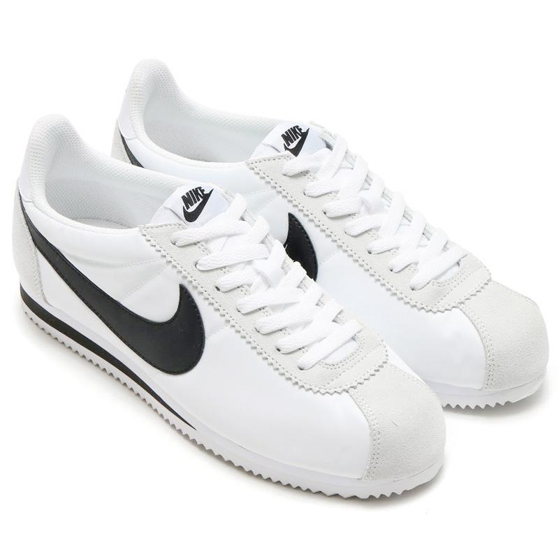 best cheap 29446 8d760 NIKE CLASSIC CORTEZ NYLON (Nike classic Cortez nylon) WHITEBLACK-LIGHT  BONE 16SU-I