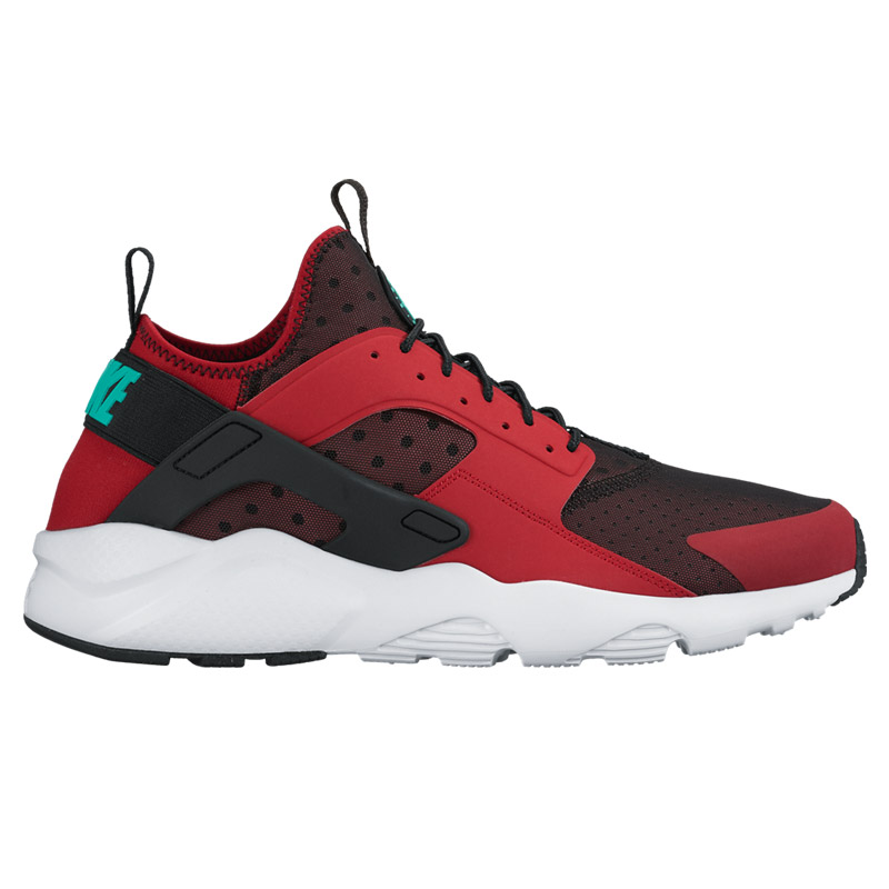 193cc88383f NIKE AIR HUARACHE RUN ULTRA (Nike Air halti run ultra) GYM RED CLEAR JADE- BLACK-PURE PLATINUM 16FA-I