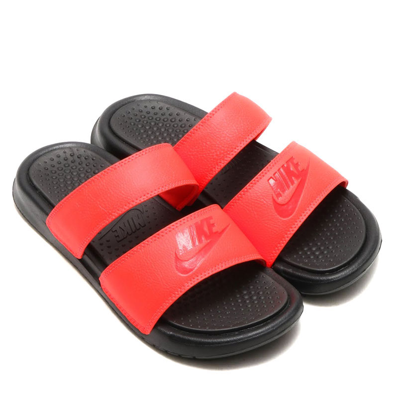 dbf3608f86f029 Nike Benassi Duo Ultra Slide Crimson