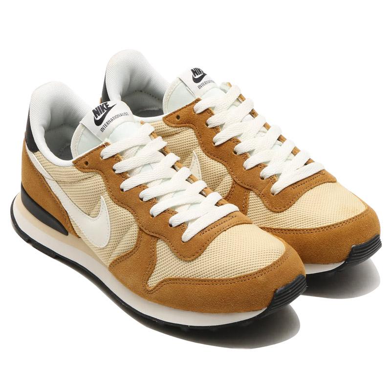 new products a0471 c2789 NIKE INTERNATIONALIST (Nike internationalist) VEGAS GOLD SAIL-ROCKY TAN- BLACK- ...