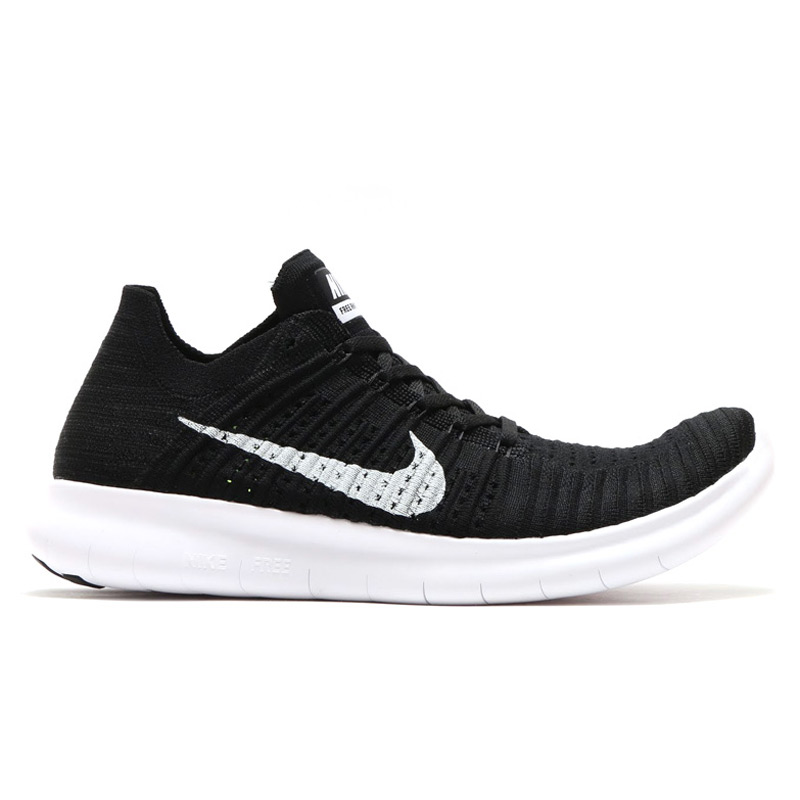 sale retailer f9217 967f0 NIKE FREE RN FLYKNIT (Nike free run Flint) BLACKWHITE CRYOVR