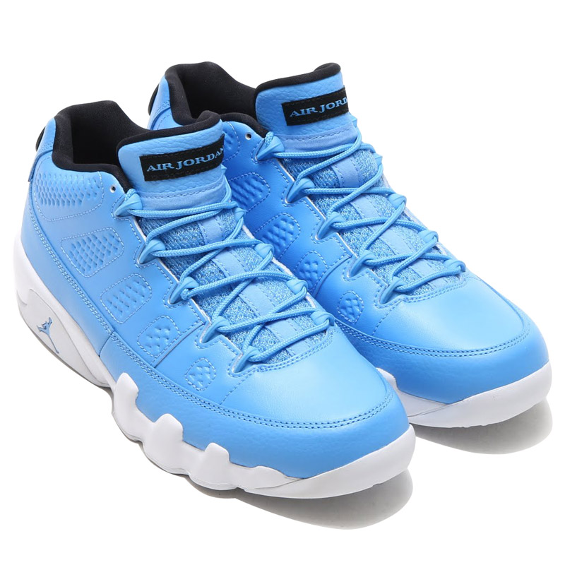 e5e58949c7db44 NIKE AIR JORDAN 9 RETRO LOW (Nike Air Jordan 9 retro low) UNIVERSITY  BLUE UNIVERSITY BLUE-WHITE-BLUE 16SU-I