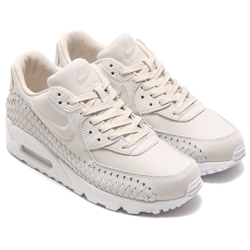 finest selection bc250 bba0e NIKE AIR MAX 90 WOVEN (Nike Air Max 90 woven) PHANTOM PHANTOM-WHITE 16SU-I