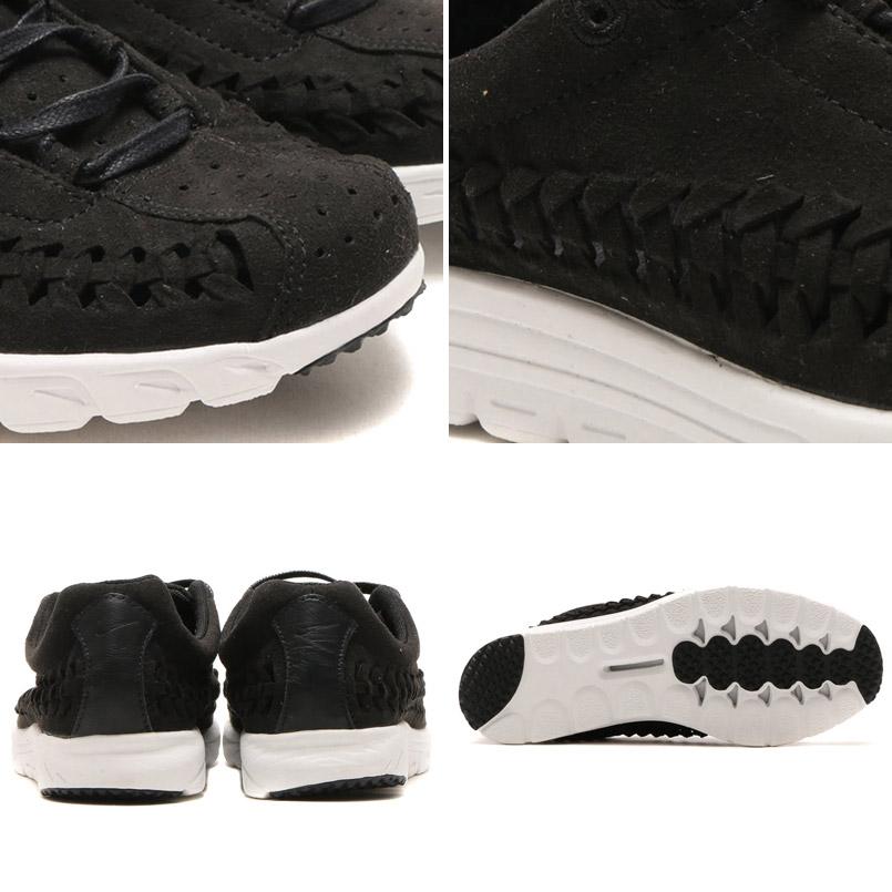 NIKE MAYFLY WOVEN (Nike mayfly woven) BLACK/BLACK-SUMMIT WHITE 16SU-I