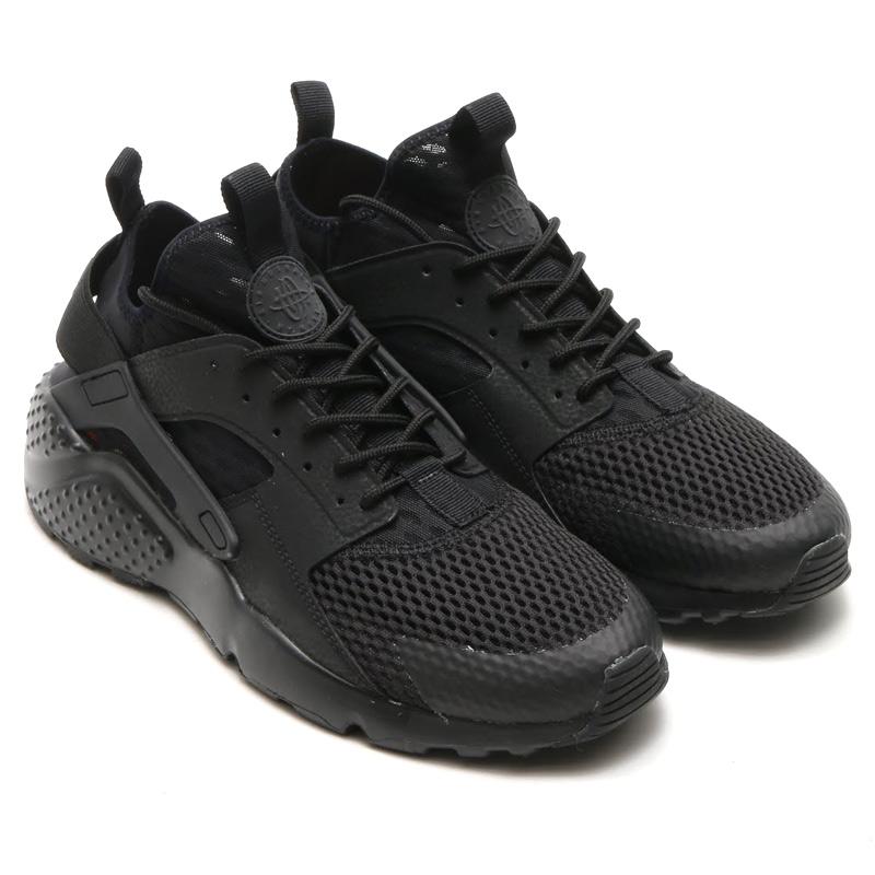 nike air huarache run ultra all black