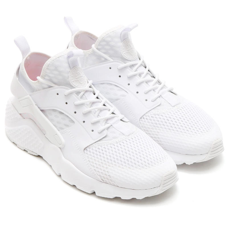 nike huarache run ultra white