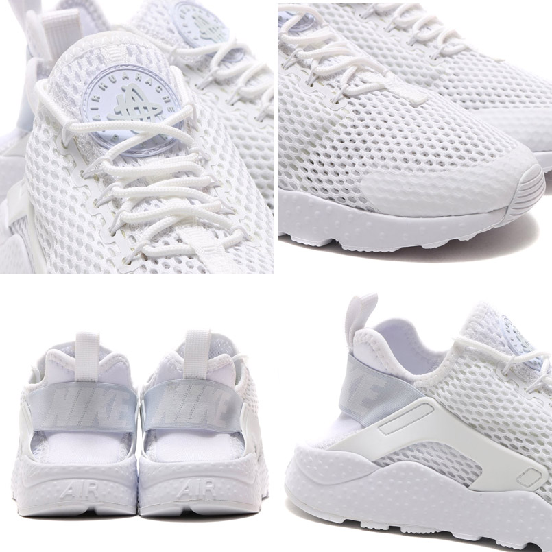 best sneakers d6aad a2a11 NIKE WMNS AIR HUARACHE RUN ULTRA BR (Nike wmns air halti run ultra Breeze)  WITE WITE-pure PLATINUM 16SU-I