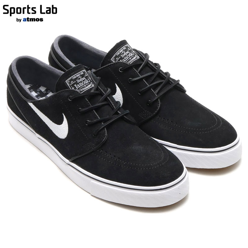 online store 664c1 5bc2a NIKE ZOOM STEFAN JANOSKI OG (Nike zoom Stefan janoski OG) BLACK WHITE-GUM  LIGHT BROWN 16SU-I