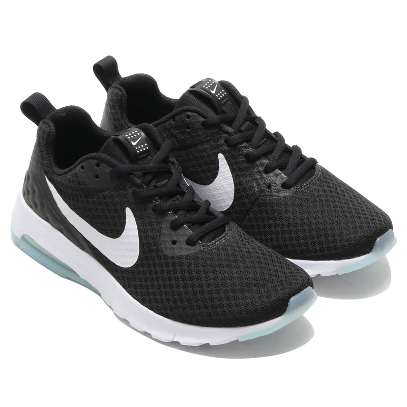 NIKE WMNS AIR MAX MOTION LW (Nike women s Air Max motion LW) BLACK WHITE  16FA-I 2de1dfee6866