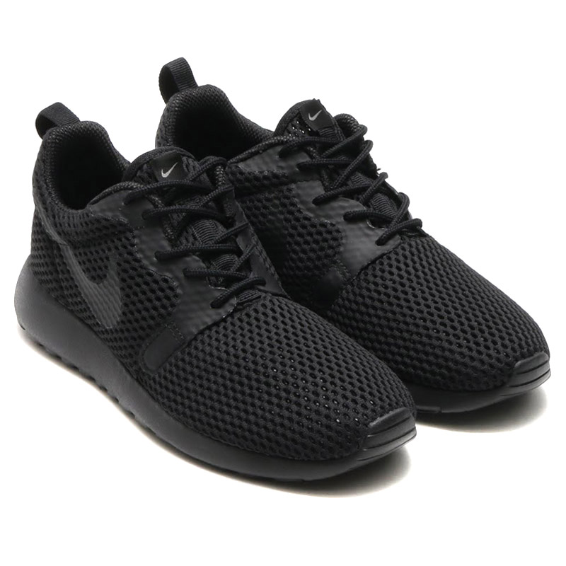 timeless design 51447 d9681 NIKE WMNS ROSHE ONE HYP BR (Nike women's Ros one hyper Breeze)  BLACK/BLACK-COOL GREY 16SU-I