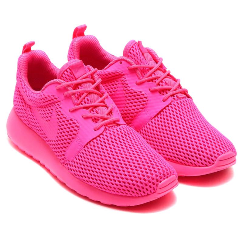 bb3b2f7f87451 ... NIKE WMNS ROSHE ONE HYP BR (Nike womens Ros one hyper Breeze) PINK  BLAST ...
