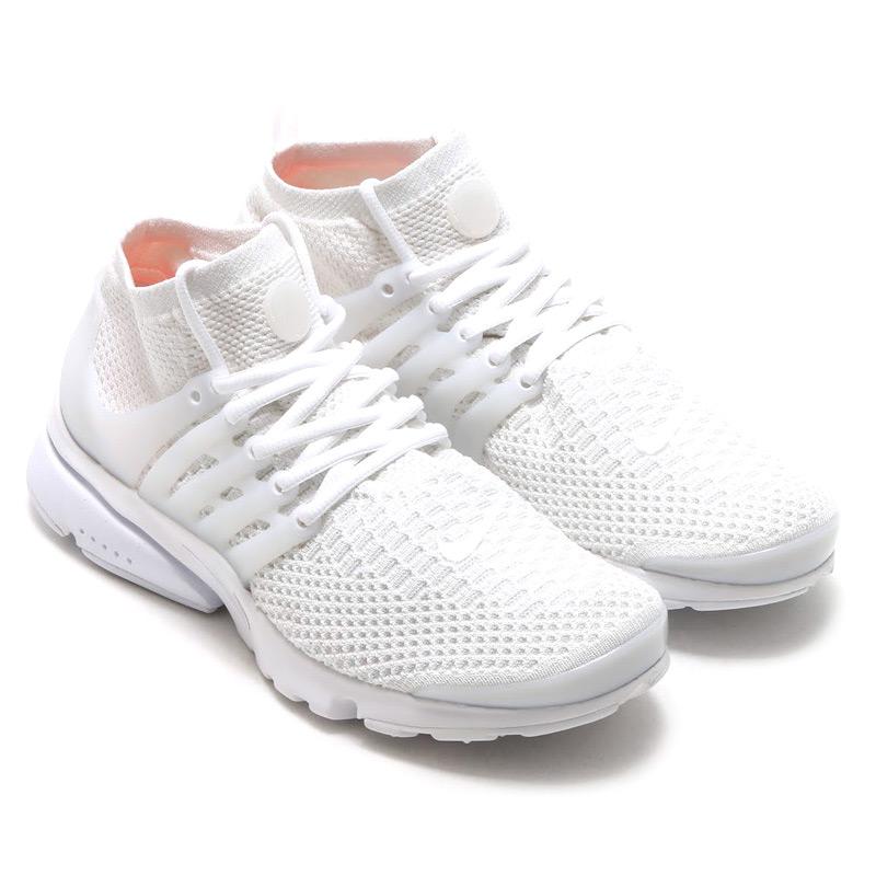 wholesale dealer 5d65f 14b18 NIKE AIR PRESTO FLYKNIT ULTRA (Nike Air Presto Flint ultra) WHITE WHITE- WHITE TOTAL CRIMSON-WOLF GREY 16SU-S
