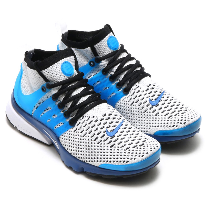 separation shoes 952ff 7aa6d NIKE AIR PRESTO FLYKNIT ULTRA (Nike Air Presto Flint ultra) ATLANTIC  BLUE WHITE-BLACK 16SU-S