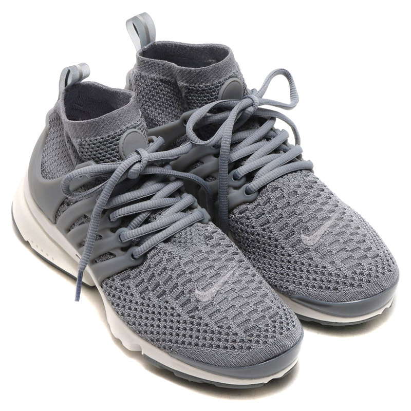 NIKE WMNS AIR PRESTO FLYKNIT ULTRA (Nike Womens air Presto Flint ultra)  COOL GREY COOL GREY-SUMMIT WHITE 16FA-I 1e110c039d