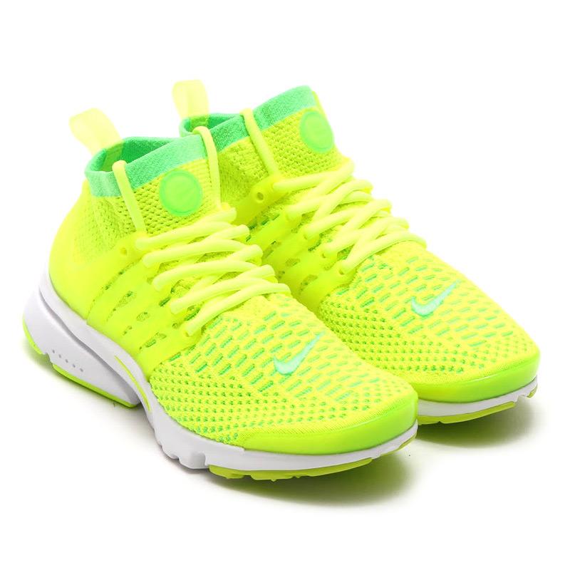NIKE WMNS AIR PRESTO FLYKNIT ULTRA (Nike Womens air Presto Flint ultra) VOLTAGE  GREEN VOLT 16SU-S b6b4b5245