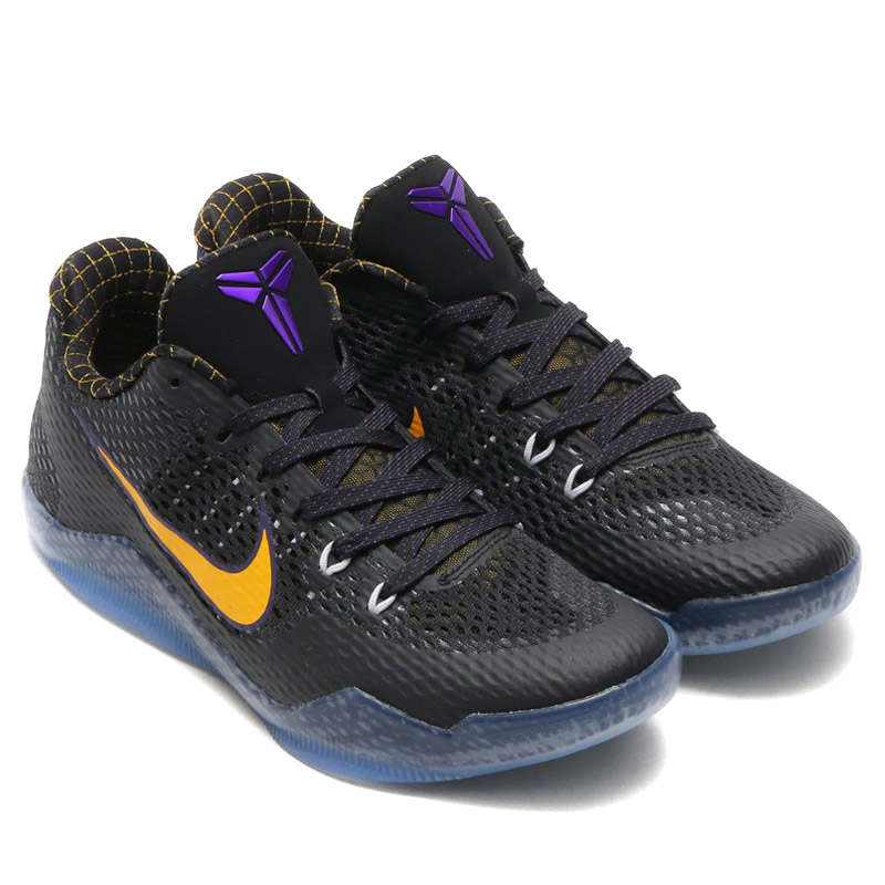 Economic Popular Mens Nike Kobe XI 11 Carpe Diem Black WhiteCourt PurpleUniversity Gold