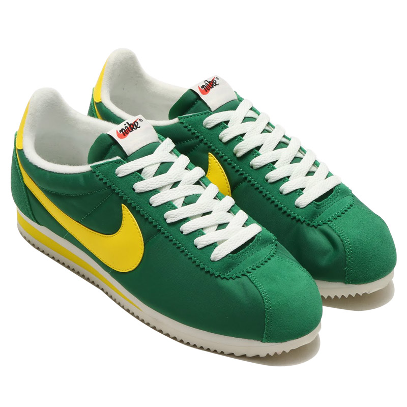 on sale 63b88 4d2f7 Nike Cortez Green And Yellow gatwick-airport-parking-deals.co.uk