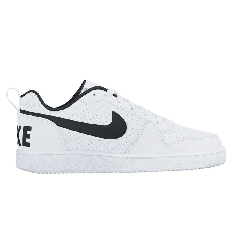 3b031d9432 NIKE COURT BOROUGH LOW SL (Nike coat Barlow row SL) WHITE BLACK 16FA-I