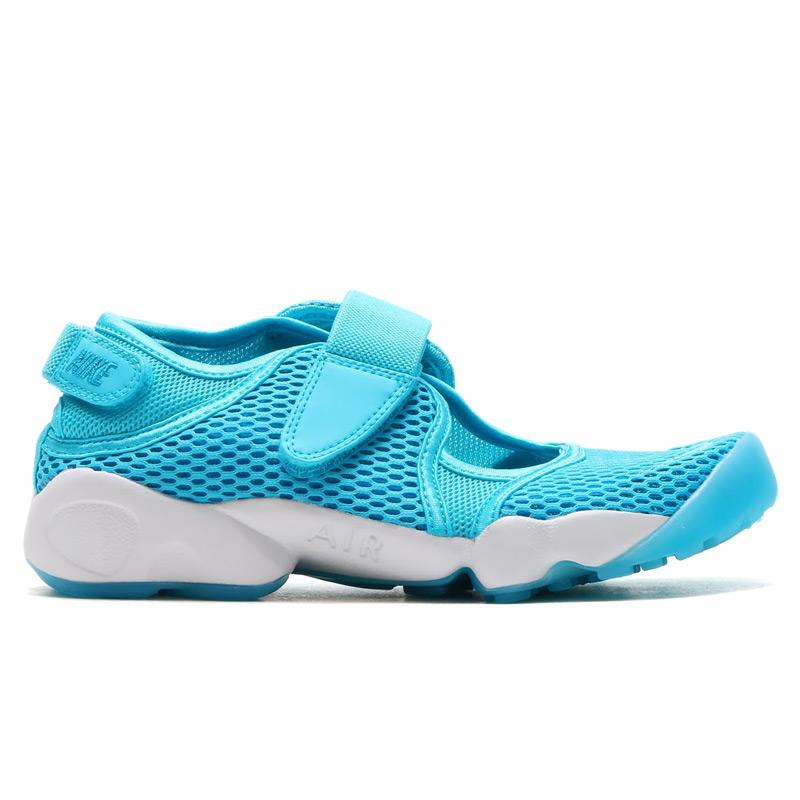 low priced 8244c 7e8a0 NIKE WMNS AIR RIFT BR (Nike wmns air rift Breeze) by GAMMA BLUE BLUE LAGOON-HITE  16SU-I