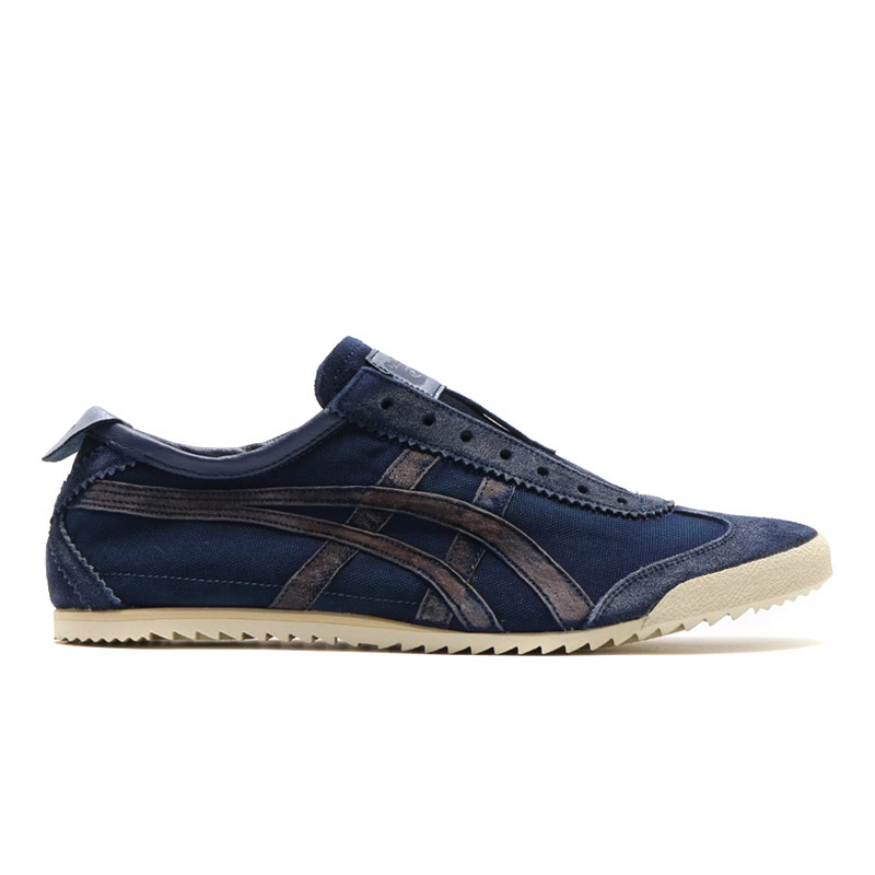 "Onitsuka Tiger MEXICO SLIP-ON DELUXE ""NIPPON MADE"" (오니트카타이가메키시코스립폰데락스""일본 메이드"") BLUE/BLUE 14 SS-S"