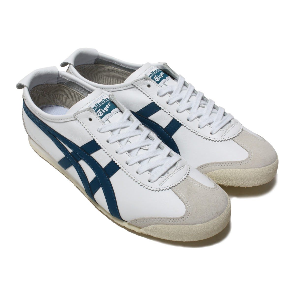 on sale 13e3b d6f16 Onitsuka Tiger MEXICO 66(オニツカ タイガー メキシコ 66)WHITE/INK BLUE【メンズ レディース  スニーカー】17AW-I|atmos-tokyo