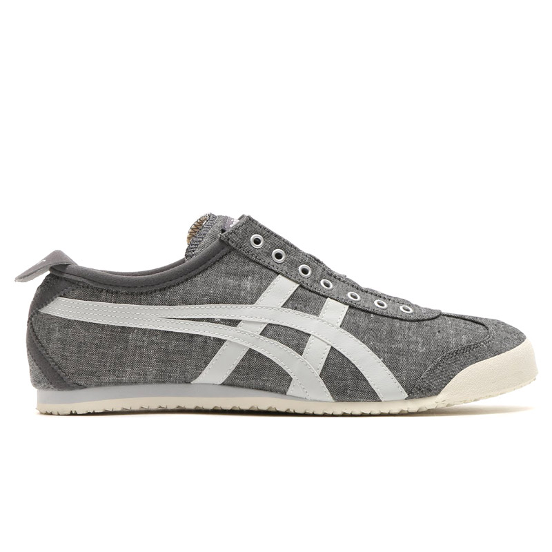 Onitsuka Tiger MEXICO 66 SLIP-ON (오니트카타이가메키시코 66 스립폰) GREY/SOFT GREY 16 SS-I