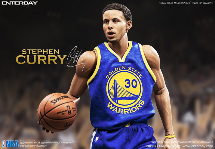 reputable site db9f3 02dee ENTERBAY 1 / 6 Scale REAL MASTERPIECE NBA COLLECTION STEPHEN CURRY (Bay 1/6  scale real masterpiece NBA collection Stephen Curry)-1/6 SCALE 16SP-I