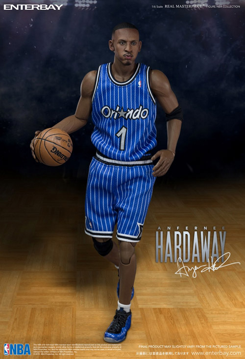 "ENTERBAY 1/6 Scale REAL MASTERPIECE NBA COLLECTION ANFERNEE ""PENNY"" HARDAWAY (エンターベイ 1/6スケール リアルマスターピース NBAコレクション アンファニー・"