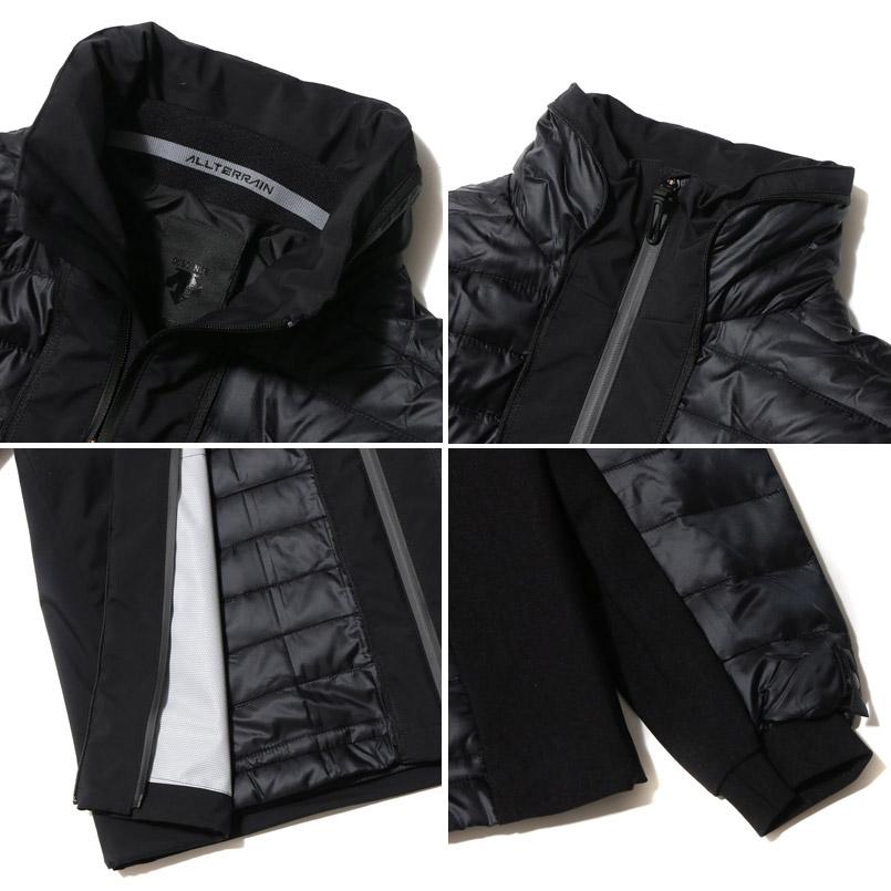 DESCENTE ALLTERRAIN TRANSFORM JACKET (デサント オルテライン トランスフォーム ジャケット)BLACK【メンズ ジャケット】16FW-I