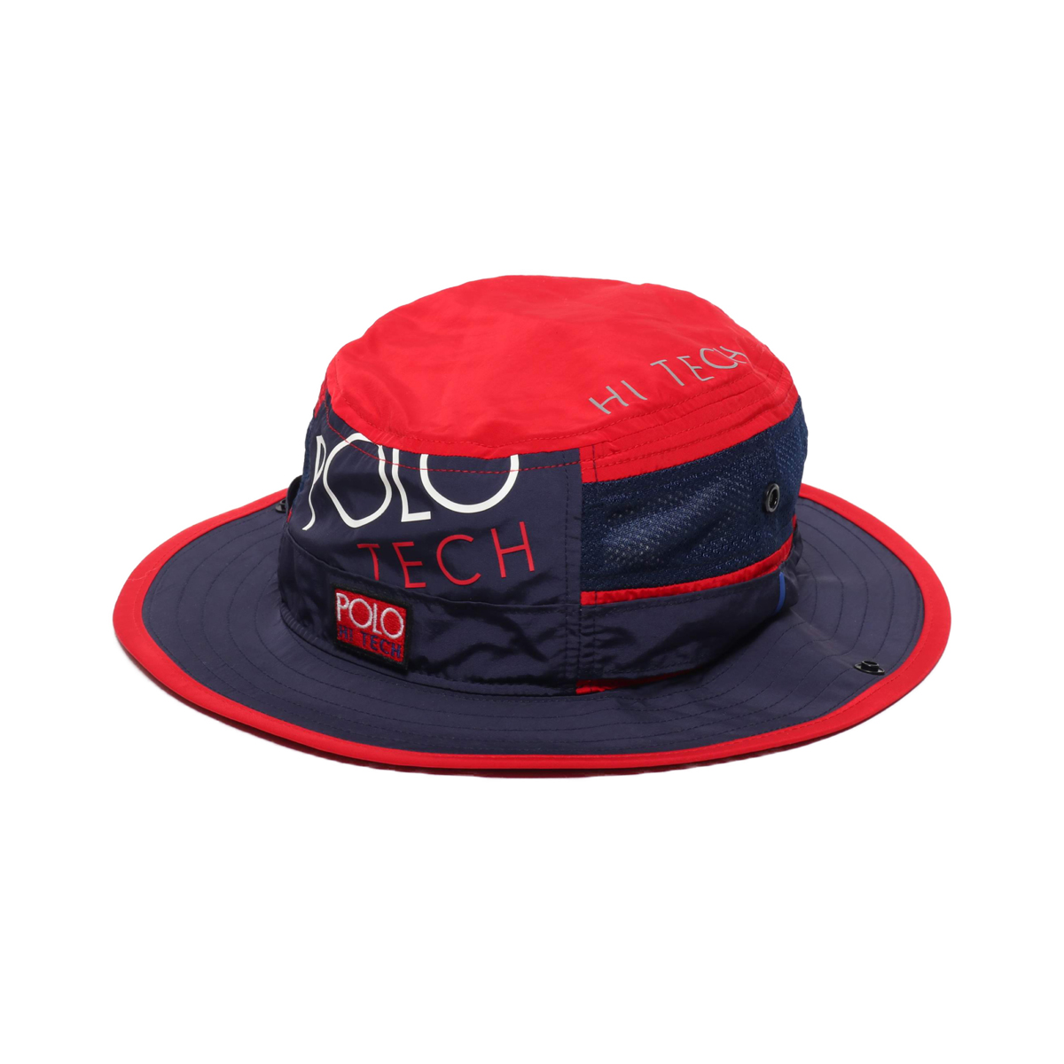 POLO RALPH LAUREN HITECHBOONEY-HAT(ポロ ラルフローレン ハイテック ブーニー ハット)RED MULTI【メンズ ハット】18HO-I