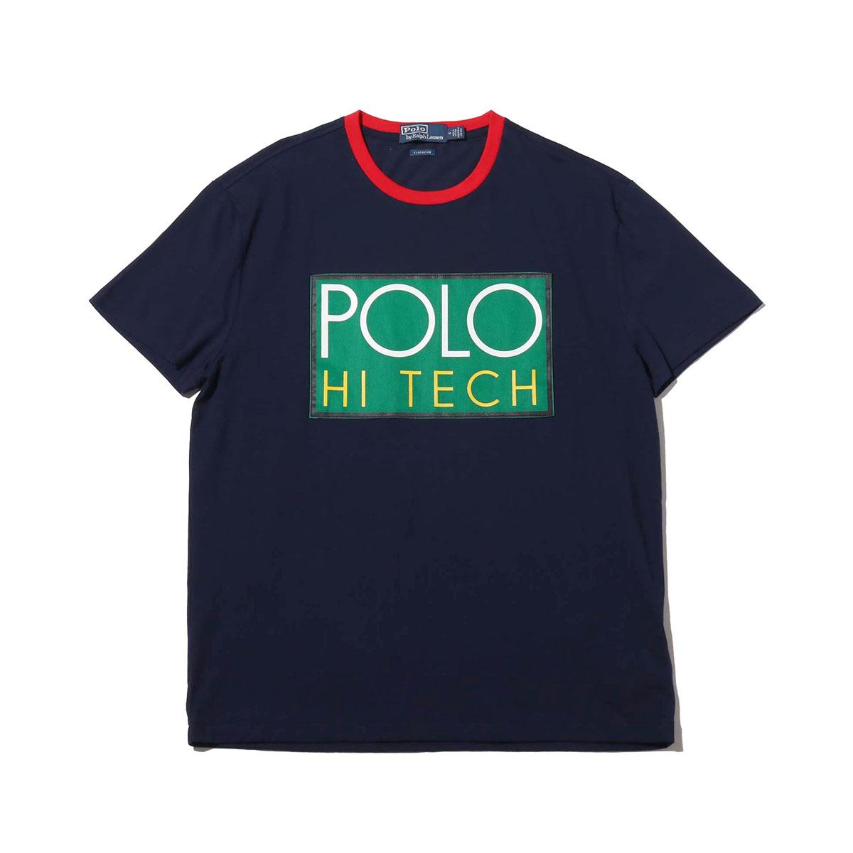 POLO RALPH LAUREN SSCNM1-SHORT SLEEVE-T-SHIRT(ポロ ラルフローレン SSCNM1 ショートスリーブ Tシャツ)NAVY【メンズ 半袖Tシャツ】18HO-I