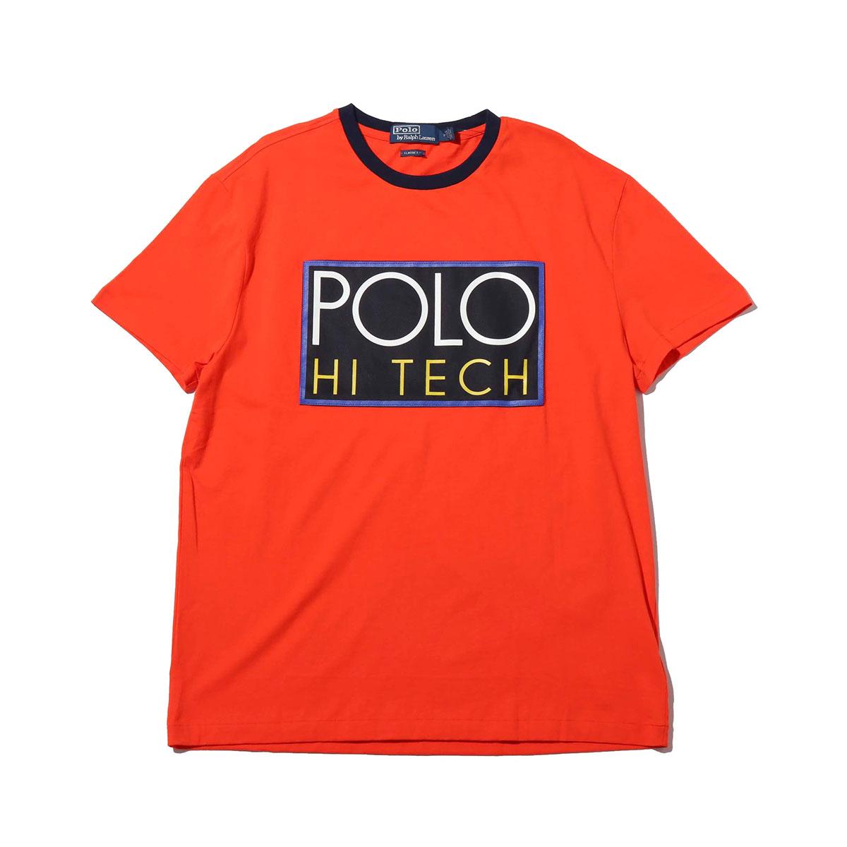 POLO RALPH LAUREN SSCNM1-SHORT SLEEVE-T-SHIRT(ポロ ラルフローレン SSCNM1 ショートスリーブ Tシャツ)ORANGE【メンズ 半袖Tシャツ】18HO-I