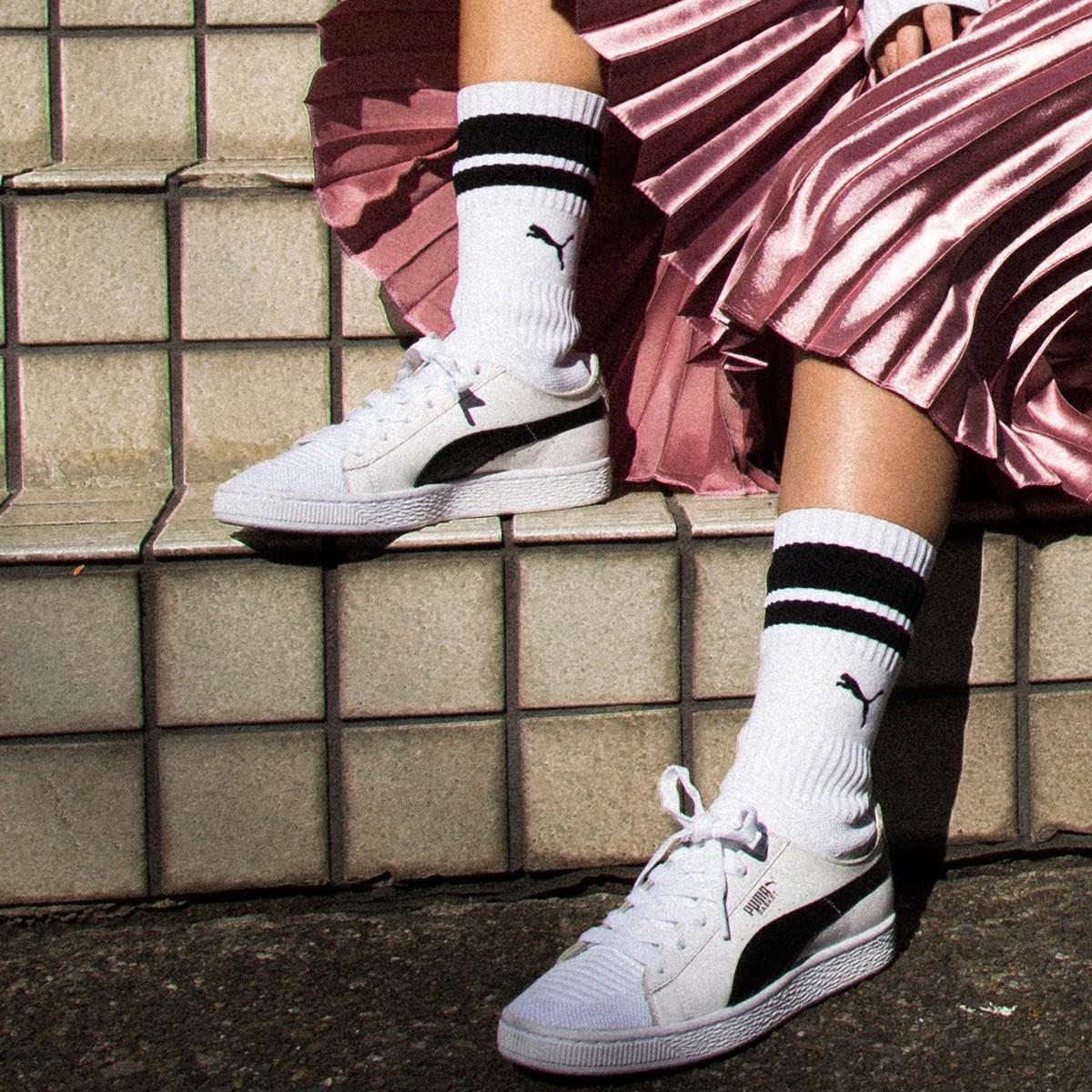 puma basket sock - 60% OFF