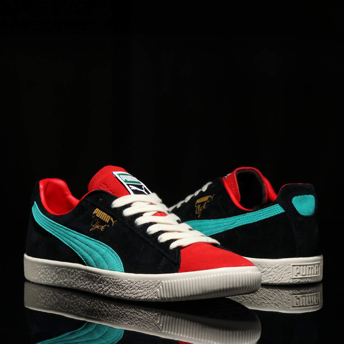 PUMA CLYDE FROM THE ARCHIVE (プーマ クライド フロム ザ アーカイブ) HIGH RISK RED【メンズ レディース スニーカー】18FA-S