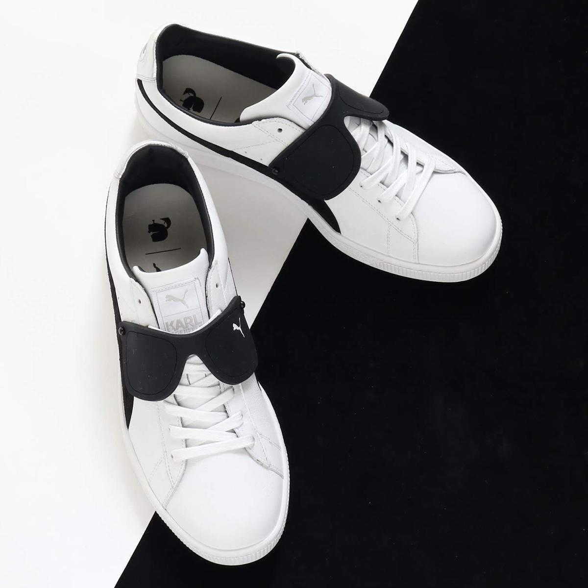 PUMA SUEDE CLASSIC × KARL(プーマ スエード クラシック × KARL)PUMA WHITE-PU【メンズ レディース スニーカー】18HO-I