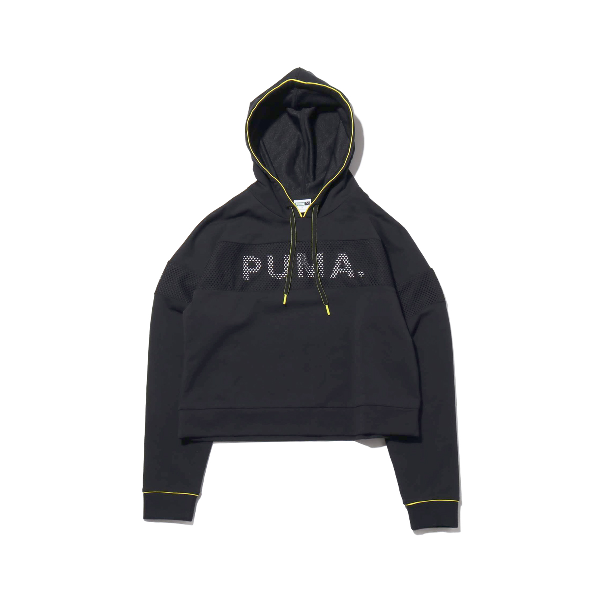 PUMA CHASE HOODY(プーマ チェース フーディー)COTTON BLACK【レディース パーカー】19SP-I