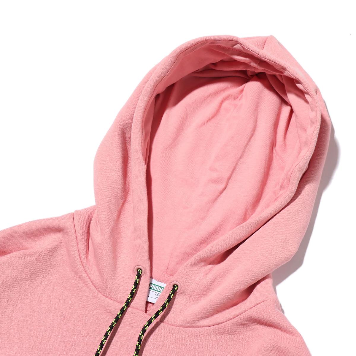 PUMA CHASE HOODED DRESS プーマ チェイス フーデッド ドレス BRIDAL ROSE レディース ワンピース 19FA IFKJ1T3uc5l