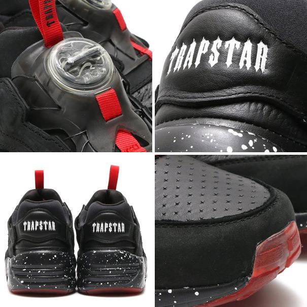 PUMA DISC×TRAPSTAR (푸 마 디스크 × 트랩 스타) BLACK/HIGH RISK RED/WHITE 15HO-S