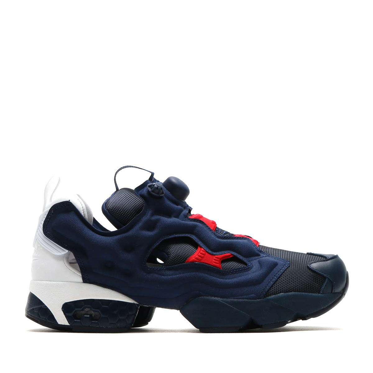 61c49c96fe0 Reebok INSTAPUMP FURY POP (リーボックインスタポンプフューリー POP) COLLEGE NAVY WHITE SCARLET  17SS-S