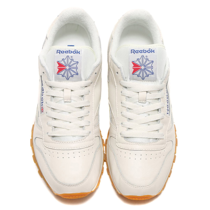 cf692861ad9 Reebok CL LTHR VINTAGE (Reebok classic leather vintage)  CHALK PAPERWHITE COLLEGIATE ROYAL EXCLLNT RED 16SS-S