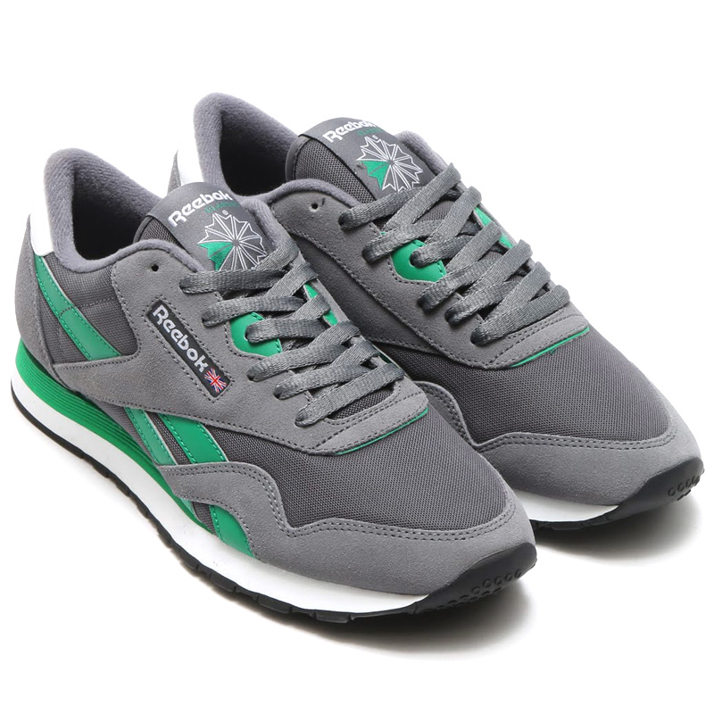 Reebok CL NYLON (리 복 클래식 나일론) ALLOY/ASH GREY/BASIL GREEN 및 WHITE/BLACK 16SS-I
