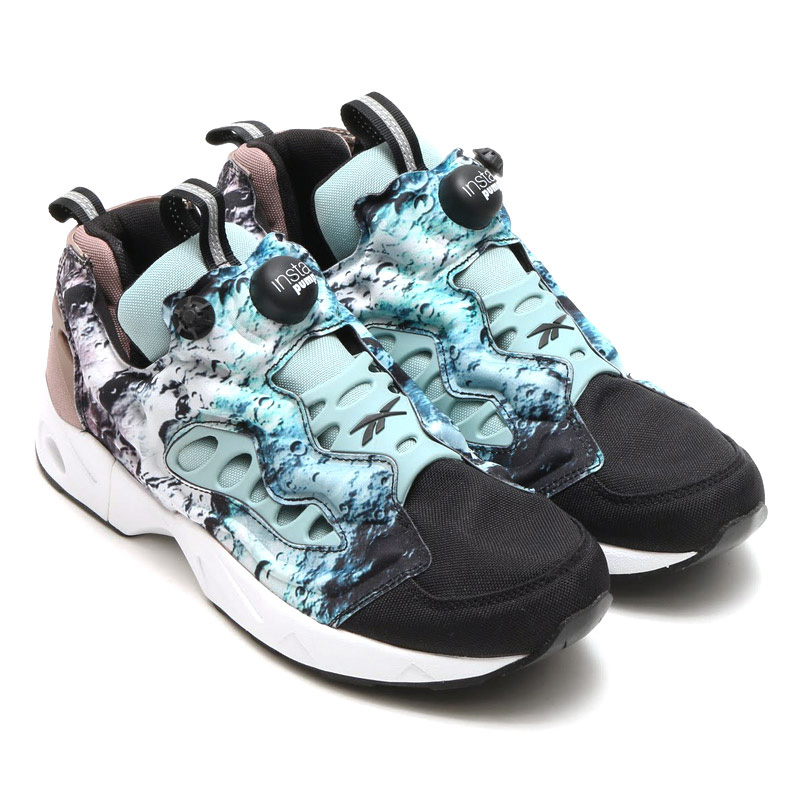 Reebok INSTAPUMP FURY ROAD SG (Reebok pump fury road) BLACK/WINTER SAGE/ SANDY TAUPE/WHITE 16SS-S