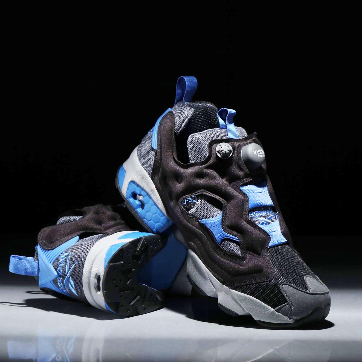 Reebok INSTAPUMP FURY OG NM(リーボック インスタポンプフューリー OG NM)BLACK/COLD GRAY/BLUE BLAST【メンズ レディース スニーカー】19SS-S