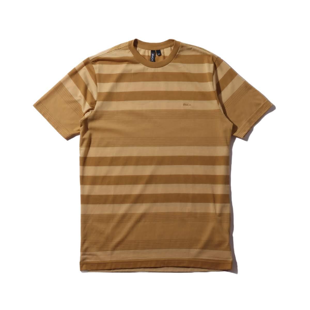 RVCA KONA CREW S/S KNIT TEE(ルーカ ショート スリーブ ティーシャツ)2色展開【メンズ 半袖Tシャツ】