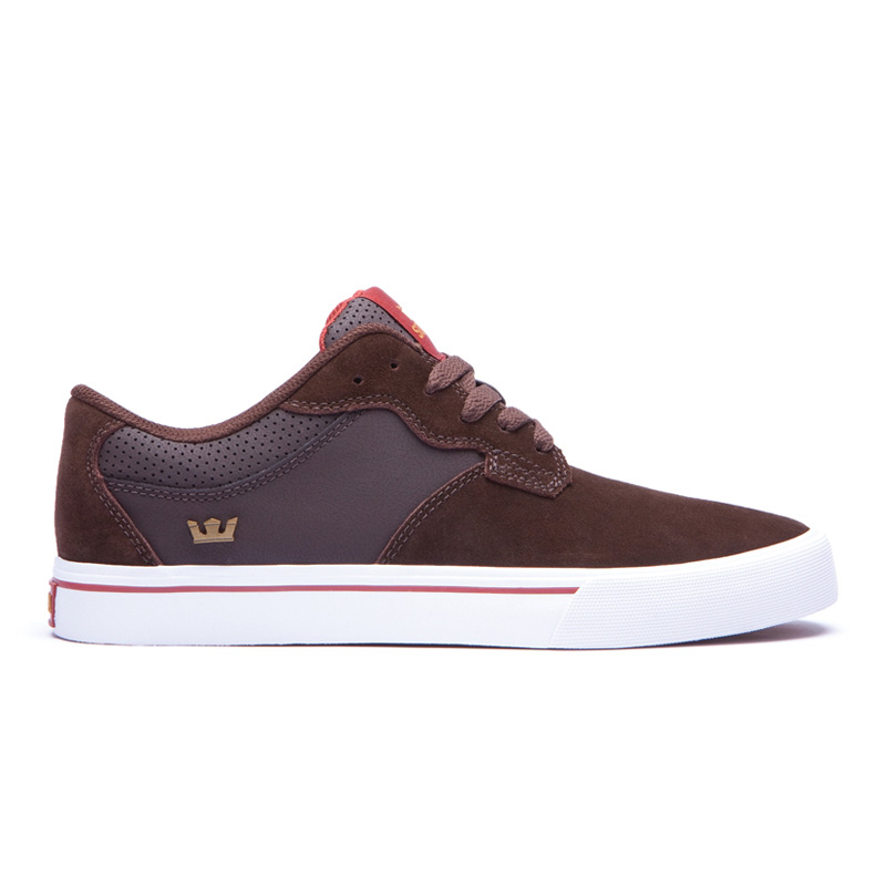 8676a152ce36 atmos-tokyo  SUPRA AXLE (Surpra accelerator) BROWN SUEDE and LEATHER ...