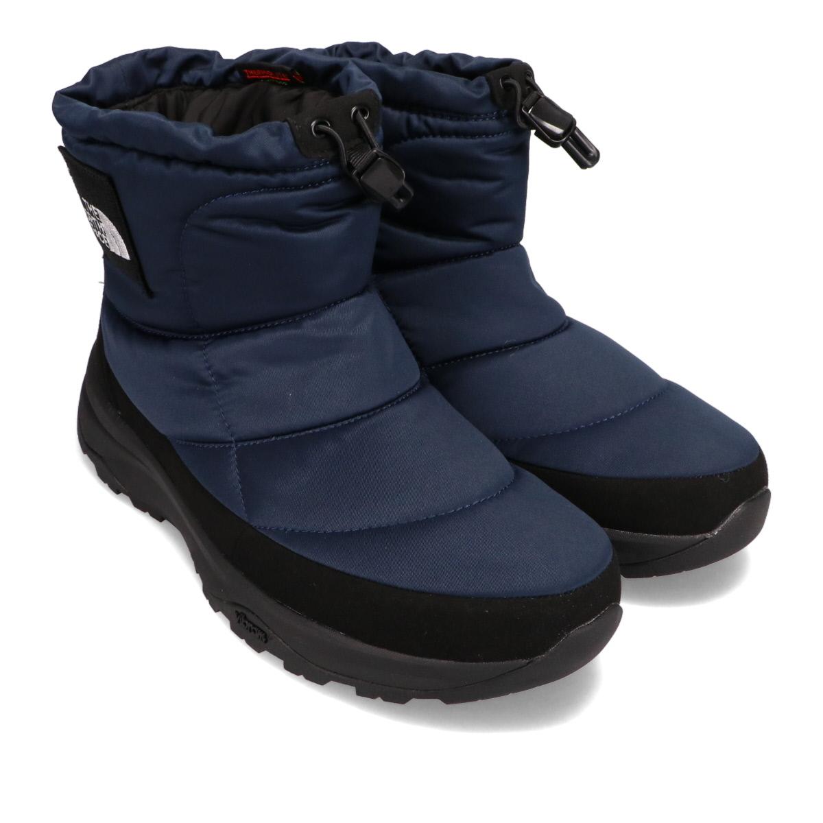 ノースフェイスプリマロフト素材のブーツ